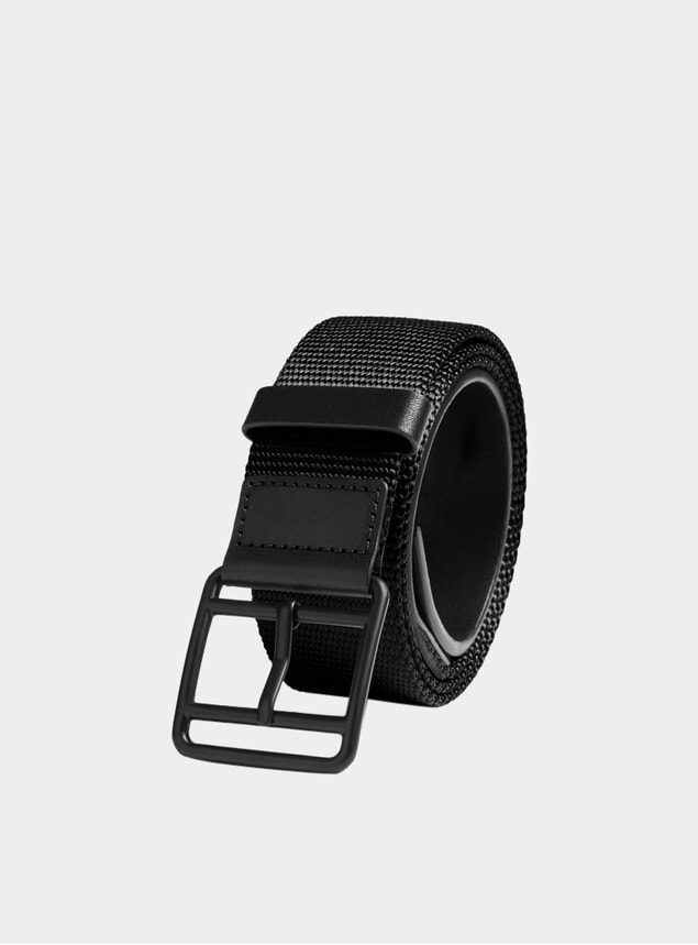 Black Webbing Belt