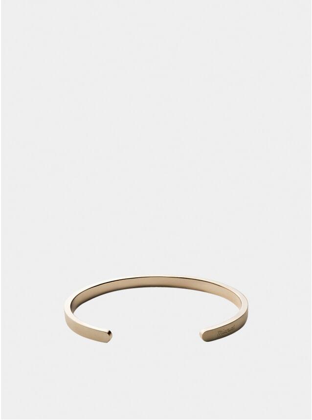 Matte Brass Singular Cuff