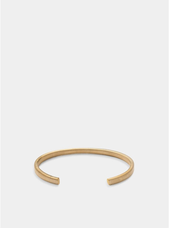 Matte Gold Thread Cuff