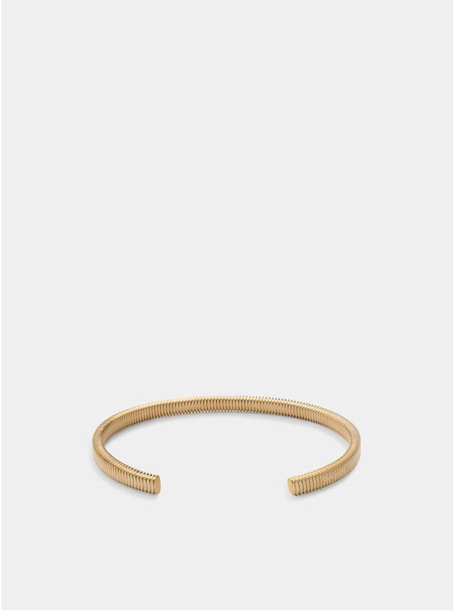 Matte Gold Thread Cuff