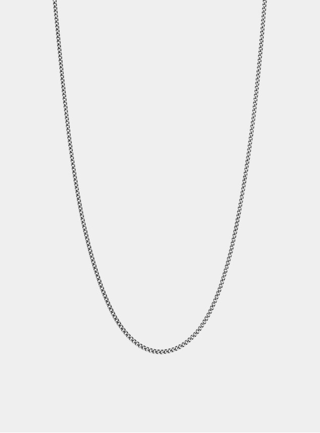 Sterling Silver 2mm Chain Necklace
