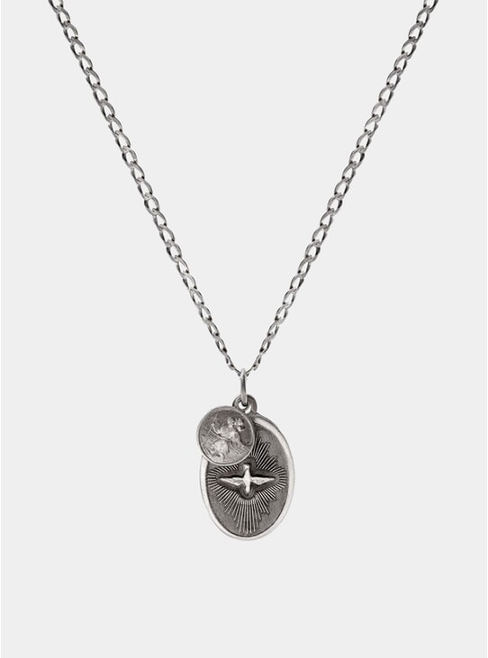 Sterling Silver Dove Necklace
