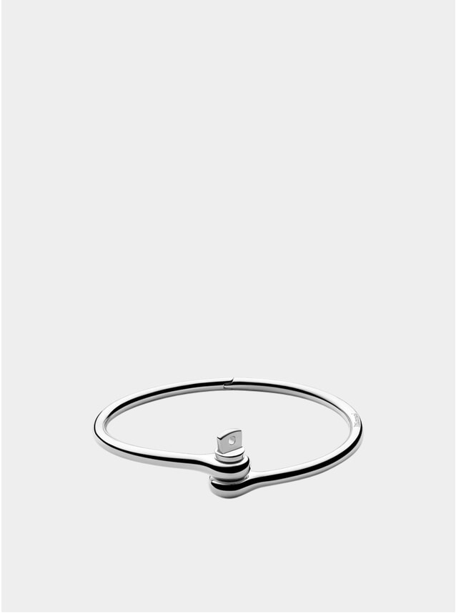 Sterling Silver Thin Reeve Cuff