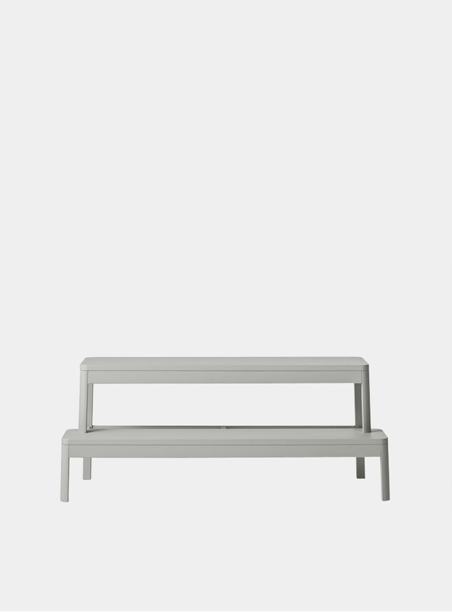 Light Grey Oak Arise Bench