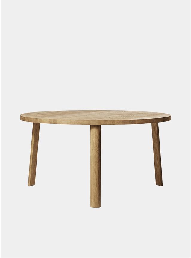 Natual Oak Large Ease Dining Table