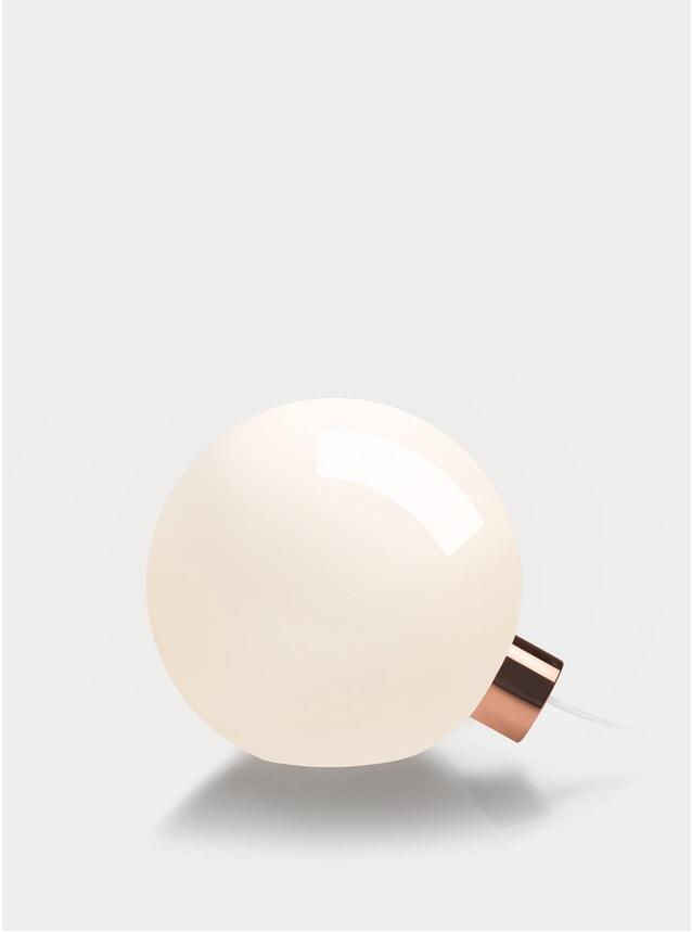 Copper Bulb Light
