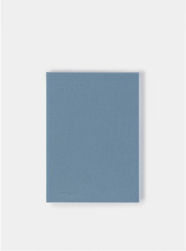 Dusty Blue Timeless Planner