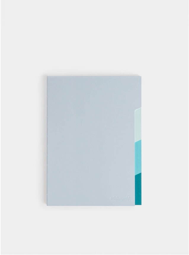Shades of Blue Notebook