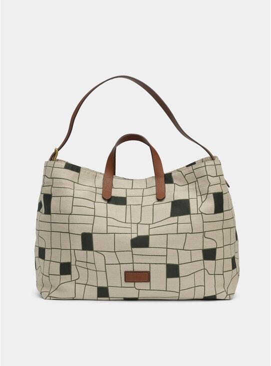 A Farmer's Track / Cuoio M/S Haven Bag