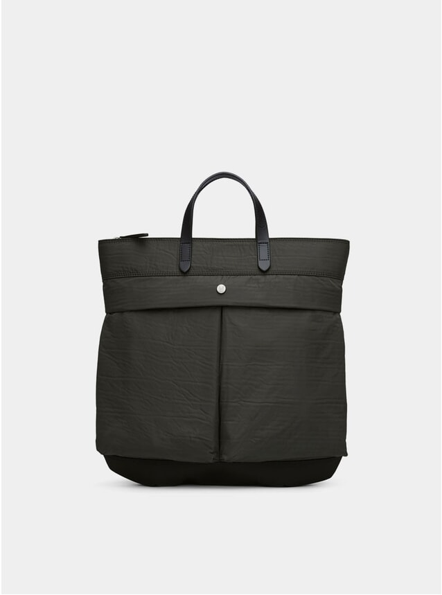 Beluga / Black M/S Helmet Bag