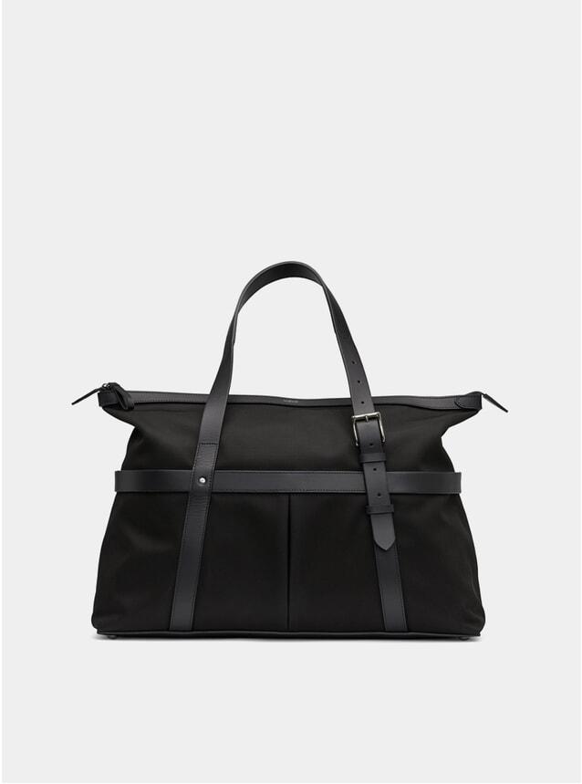 Black / Black M/S A-Bag