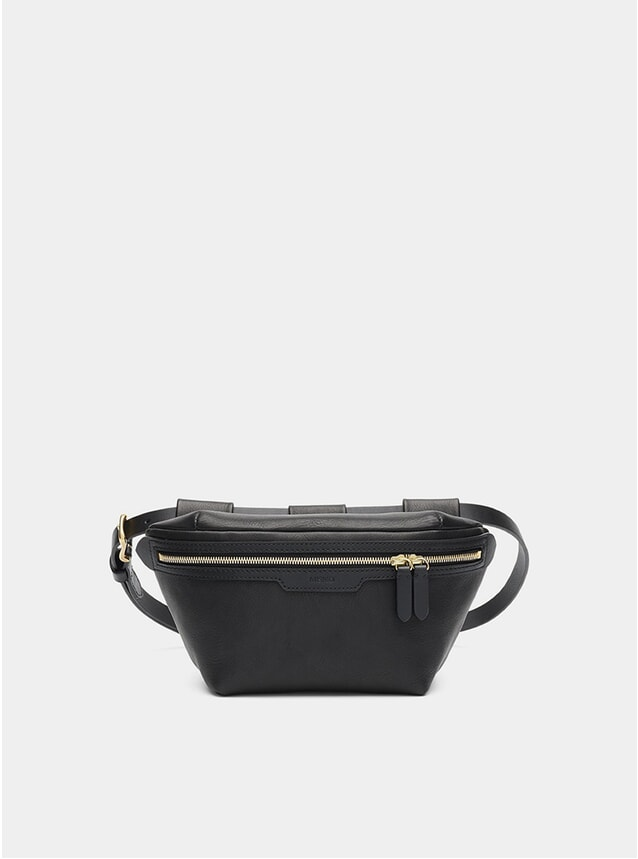 Black / Black M/S Belt Bag