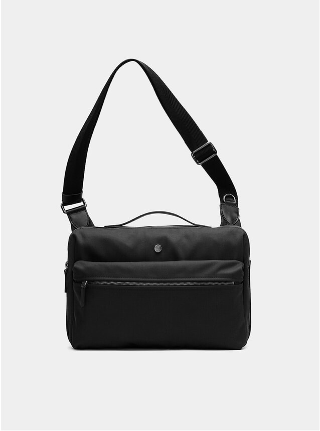 Black / Black M/S Commute Bag