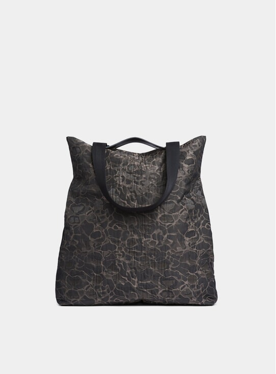 Camo Jacquard / Black M/S Flair Tote