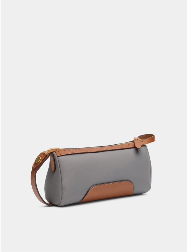 Concrete / Cuoio M/S Prime Wash Bag