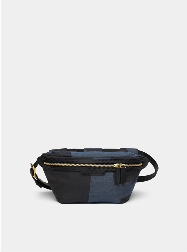 Elements Jacquard / Black M/S Belt Bag