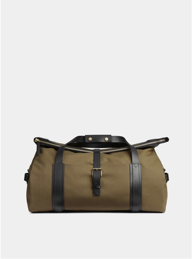 Khaki / Black M/S Explorer Bag