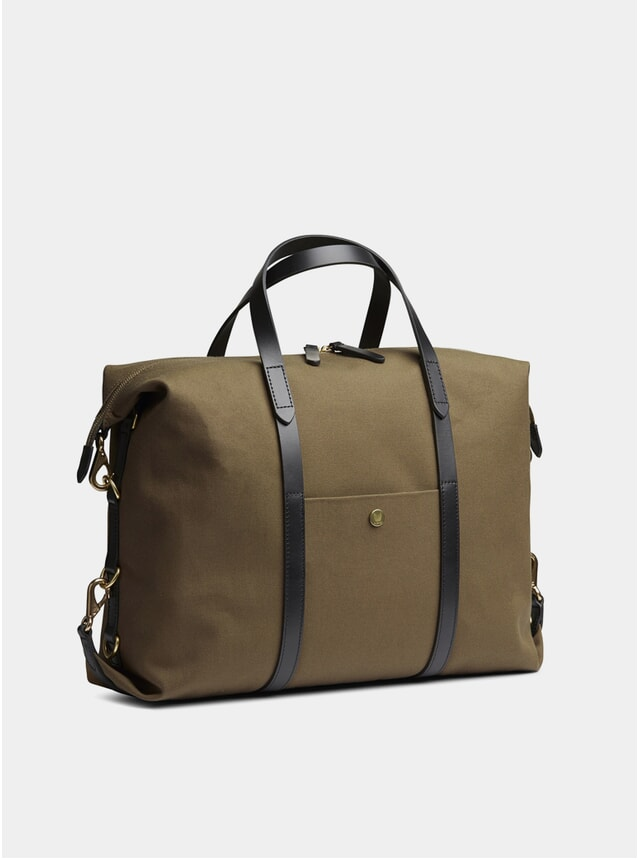 Khaki / Black M/S Utility Bag