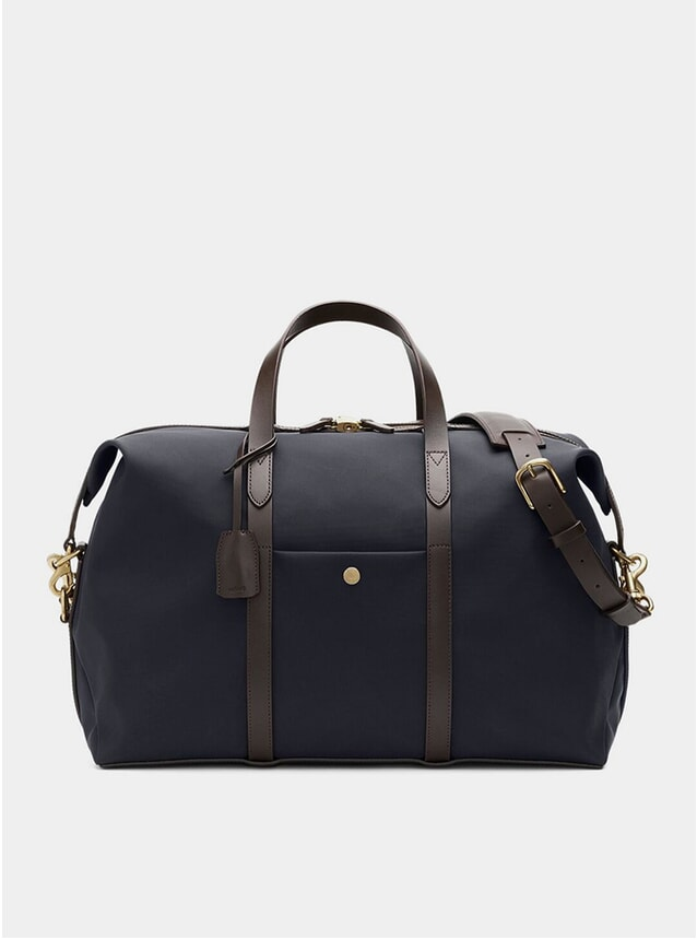Navy / Dark Brown M/S Avail Weekender