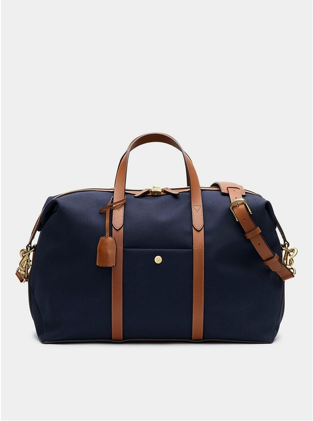 Midnight Blue / Cuoio M/S Avail Weekender