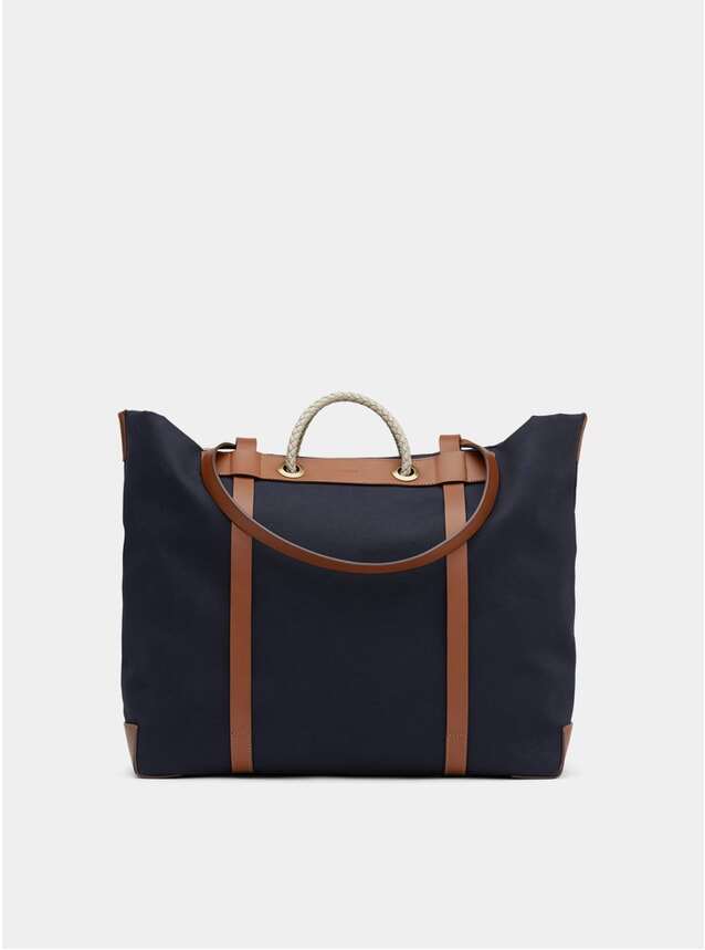 Midnight Blue / Cuoio M/S Seaside