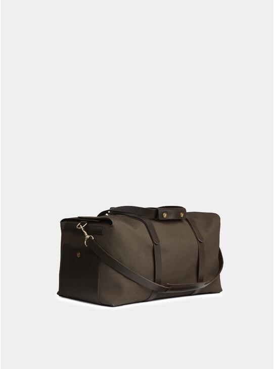 Army / Dark Brown MS Supply Bag