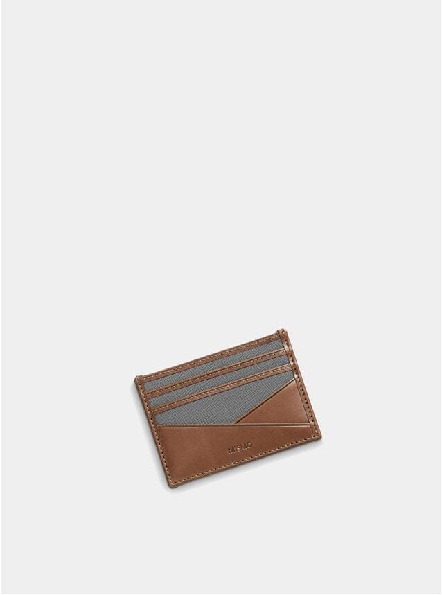 Concrete / Cuoio Leather M/S Cardholder