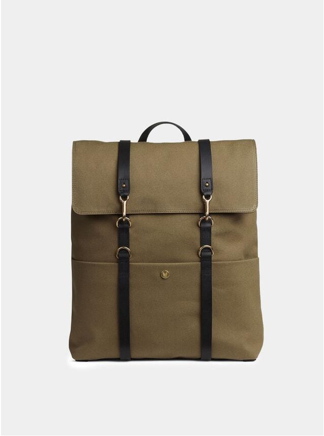 Khaki / Black MS Backpack