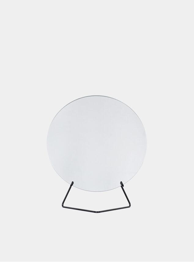 Black 30cm Standing Mirror