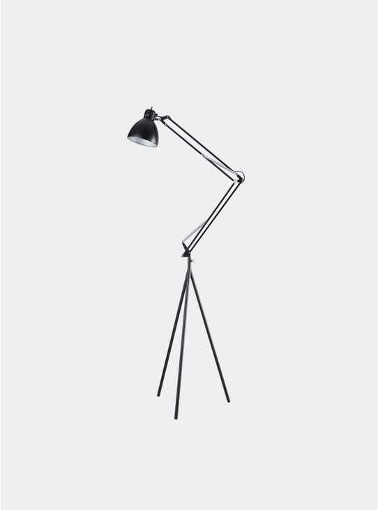 Black Stand Lamp Set