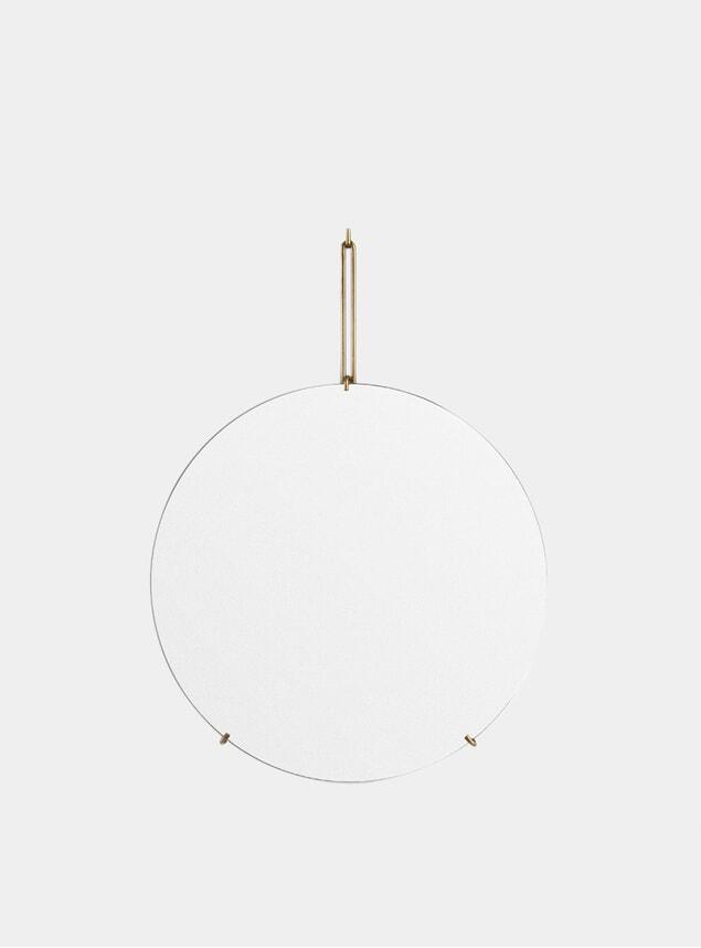 Brass 50cm Wall Mirror