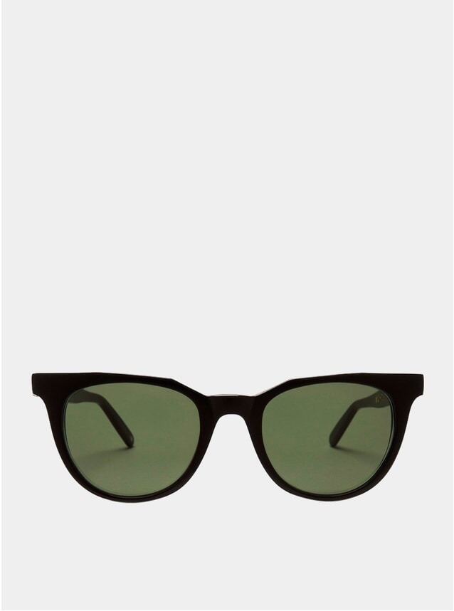 Black / Green Sodermalm Sunglasses