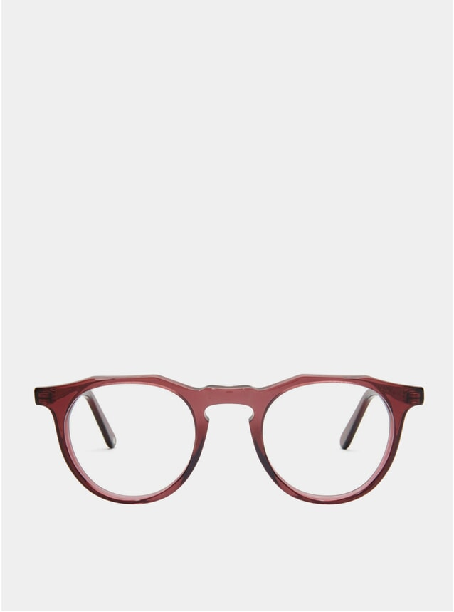 Burgundy Kallio Glasses