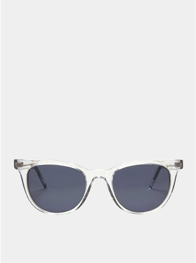 Crystal / Navy Sodermalm Sunglasses