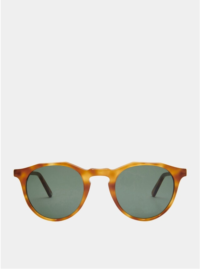 Light Tortoise / Khaki Kallio Sunglasses