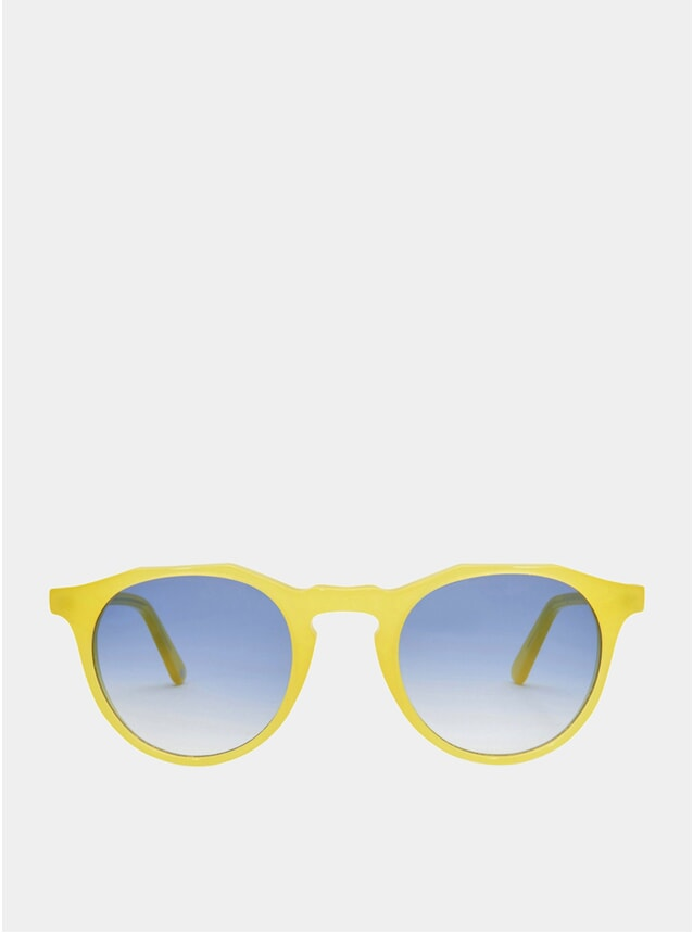 Limoncello / Blue Kallio Sunglasses