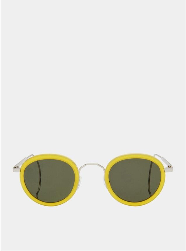 Limoncello / Green London Fields Sunglasses