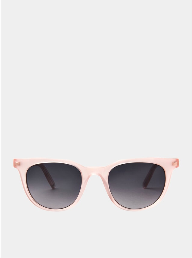 Matte Pink / Midnight Blue Sodermalm Sunglasses