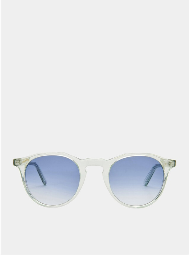 Peppermint / Blue Gradient Kallio Sunglasses