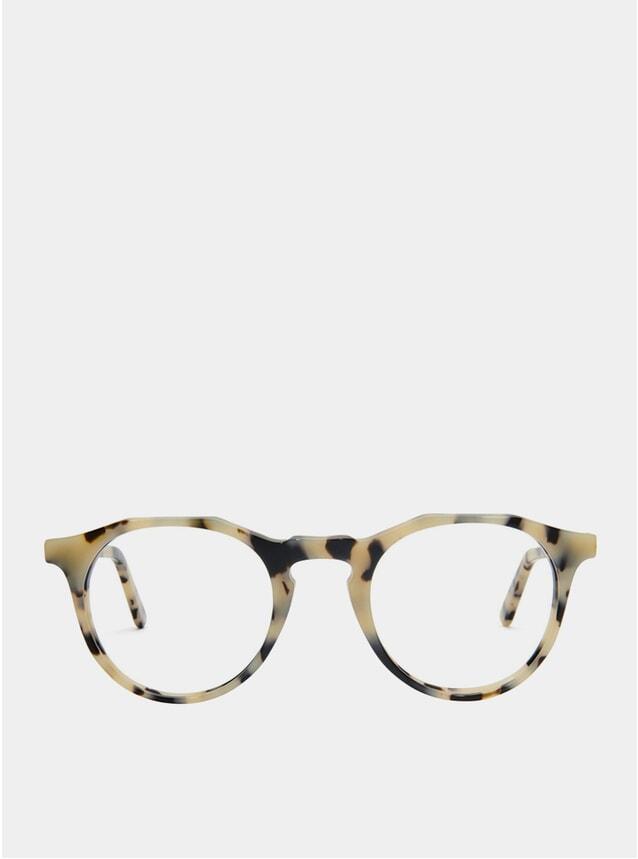 White Tortoise Kallio Glasses