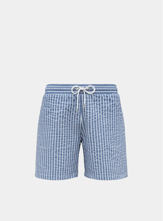 Azure Blue Classic Original Swim Shorts