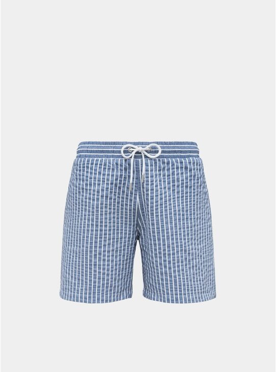 Azure Blue Classic Original Swim Shorts