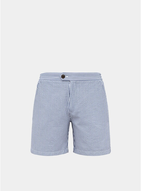 Blue Tailored Original Swim Shorts
