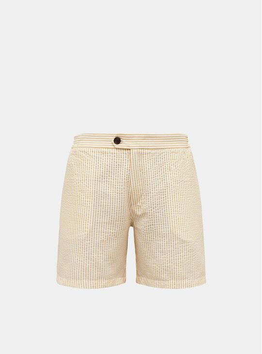 Yellow Tailored Original Swim Shorts