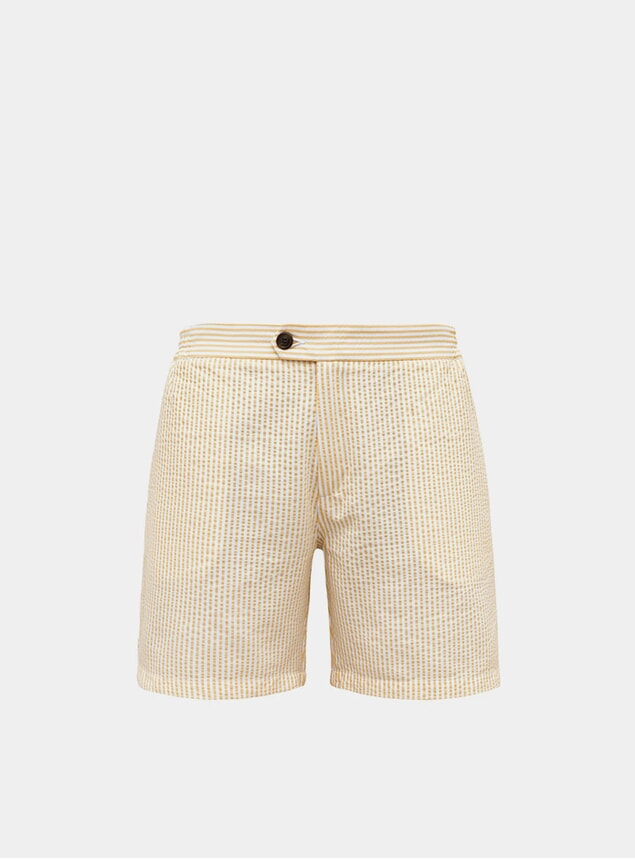 Yellow Tailored Original Swim Shorts