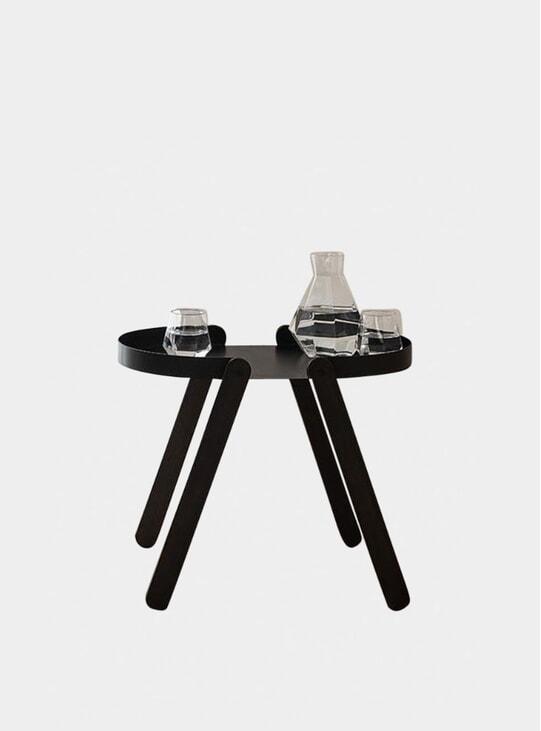 Black Tepsi Side Table