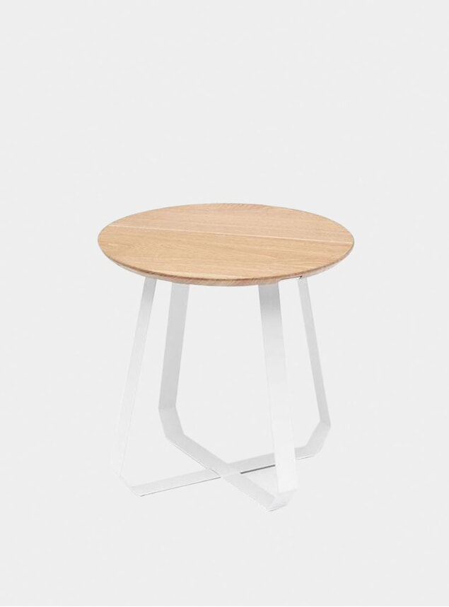 Tall White Shunan Table