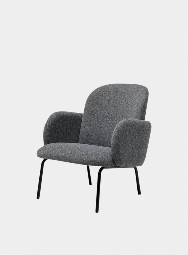 Dark Grey Dost Lounge Chair