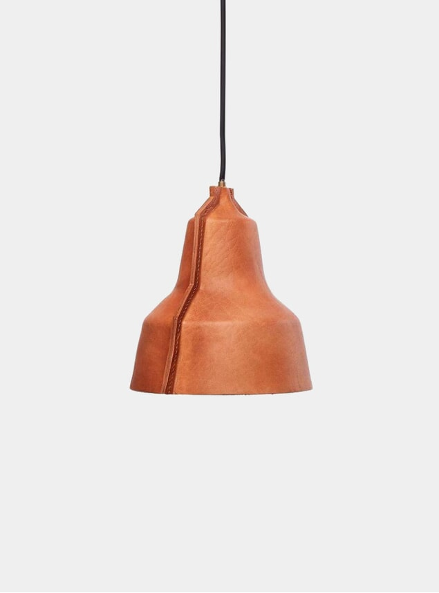 Natural Leather Lloyd Lamp