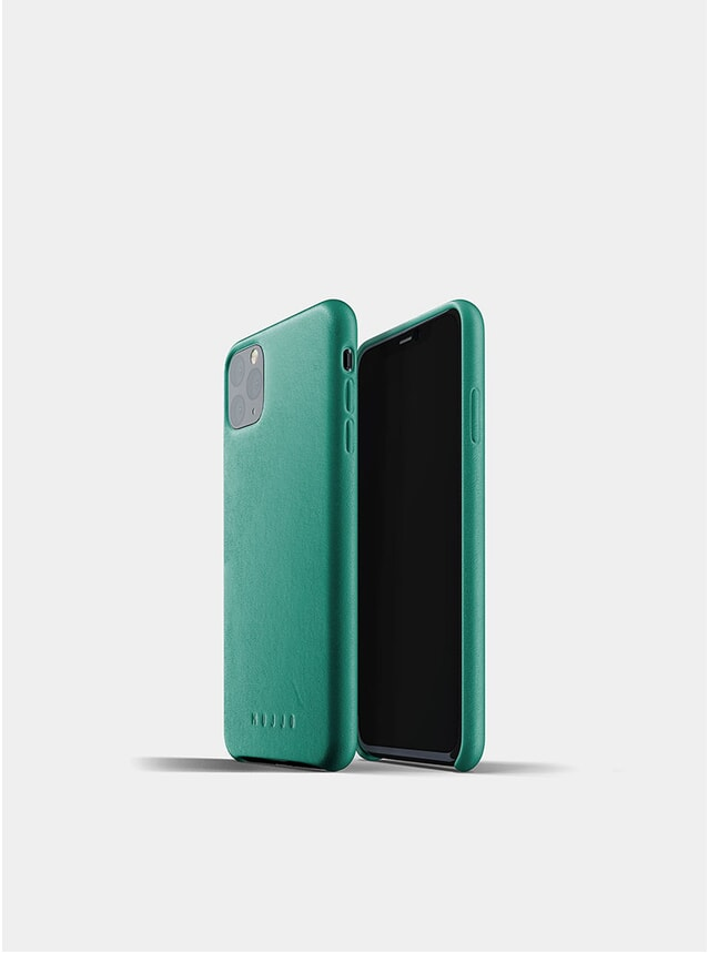 Alpine Green Full Leather iPhone 11 Pro Max Case